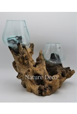 . Glass on root duo