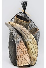 . Bag with cow horns small 5 pieces