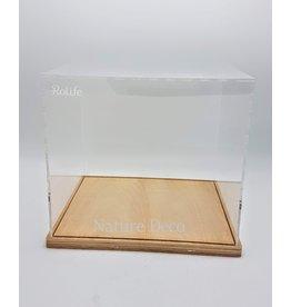 . Plexiglas overkapping / dust cover