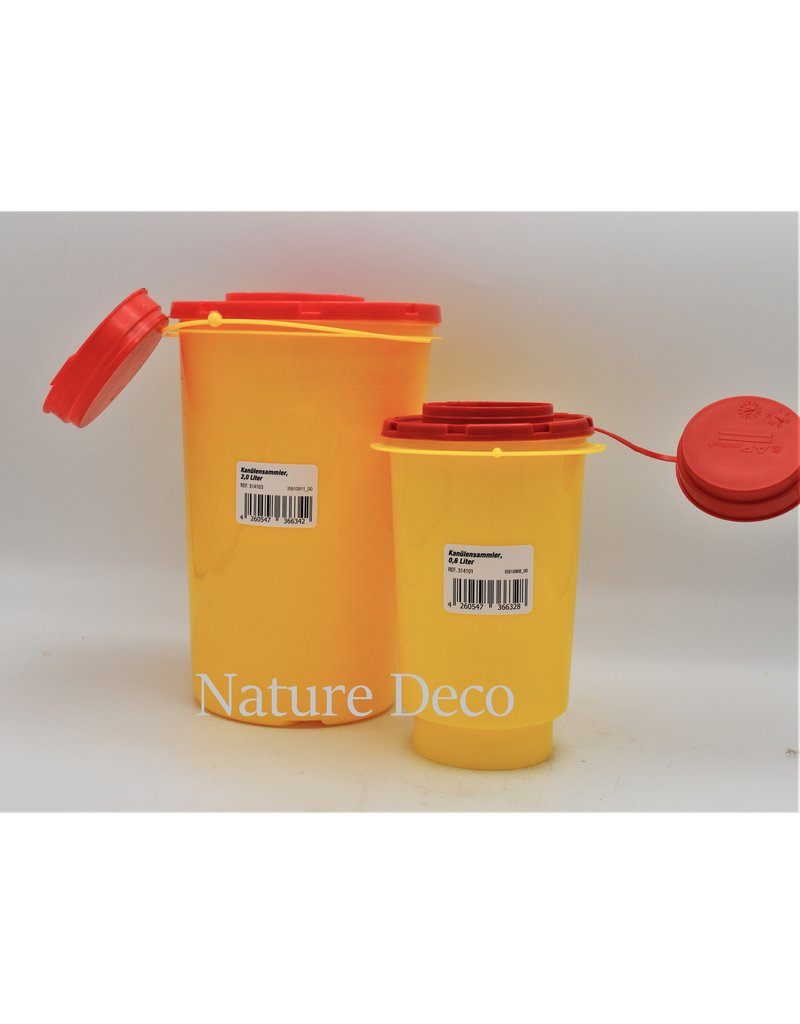 . Sharps container 0.6 L.