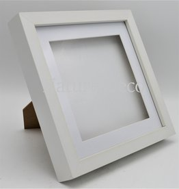 Nature Deco Luxury 3D frame large white