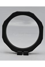 . Plastic foil frame with holder round 12,6cm