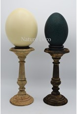 . Wooden candle stand  small dark