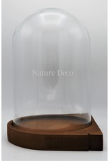 . Wall dome brown h29xd21cm