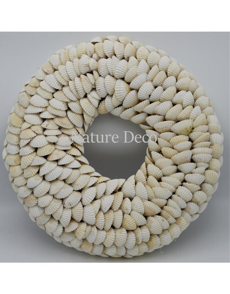 . Shell wreath Chippy XXL 35 x 35cm