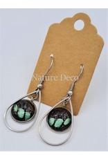 Nature Deco Earring drop Sarpedon Graphium