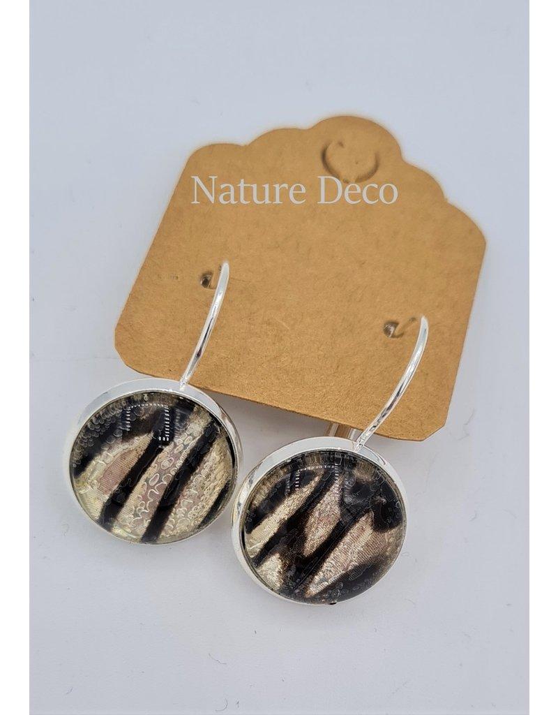 Nature Deco Oorbel hangend Leuconoe