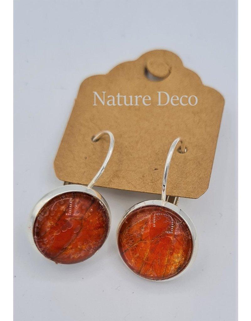 Nature Deco Earring hanging Nero