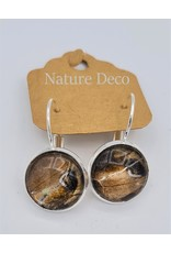 Nature Deco Earring hanging Ricini