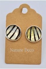 Nature Deco Earring stud Leuconoe
