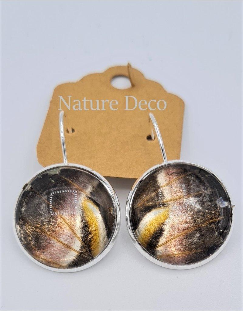 Nature Deco Oorbel hangend XL Ricini