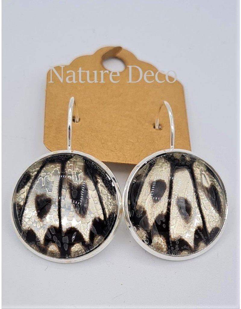 Nature Deco Oorbel hangend XL Leuconoe