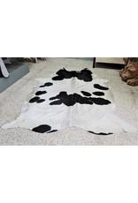 . Cowhide black-white  202 x 164cm