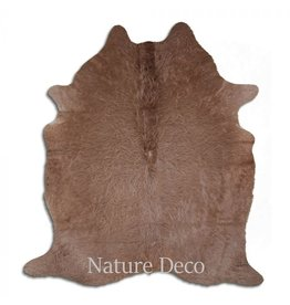 . Cowhide taupe