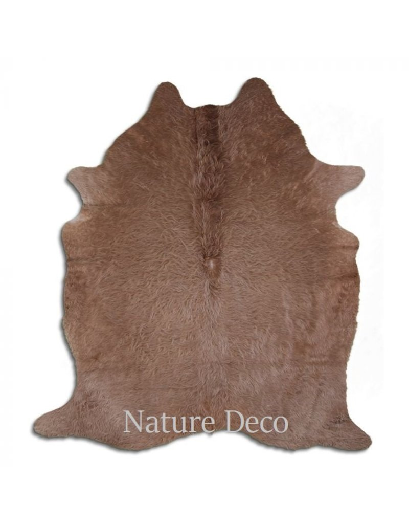 . Cowhide taupe 211 x 190cm
