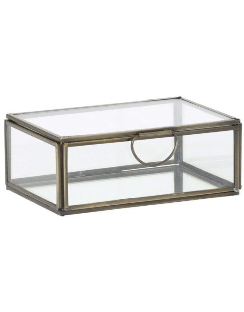 . Display box bronze 15,5x10,5x6 cm