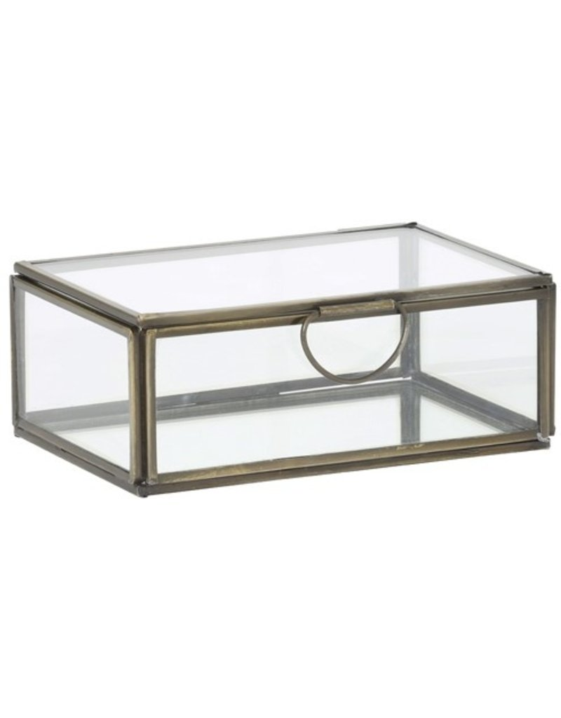 . Vitrine box brons 15,5x10,5x6 cm
