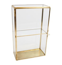 . Vitrine box duo goud