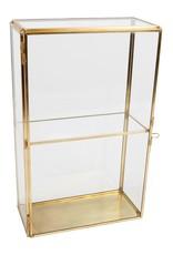 . Display box duo gold 15x7x24cm