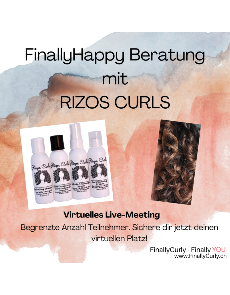 FINALLYCURLY FinallyHappy Consultation with Rizos Curls