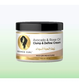 BOUNCE CURL Avocado & Rose Oil Clump and Define Cream