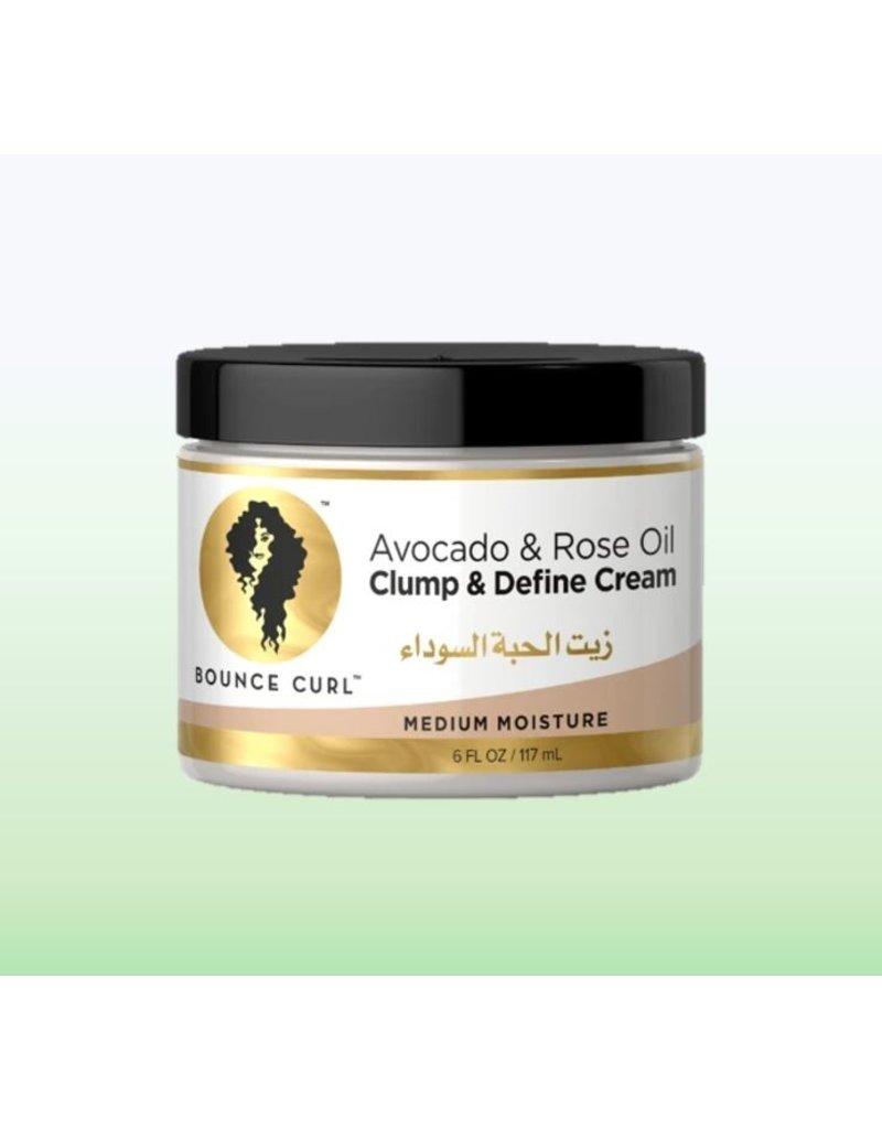 BOUNCE CURL Avocado & Rose Oil Clump and Define Cream