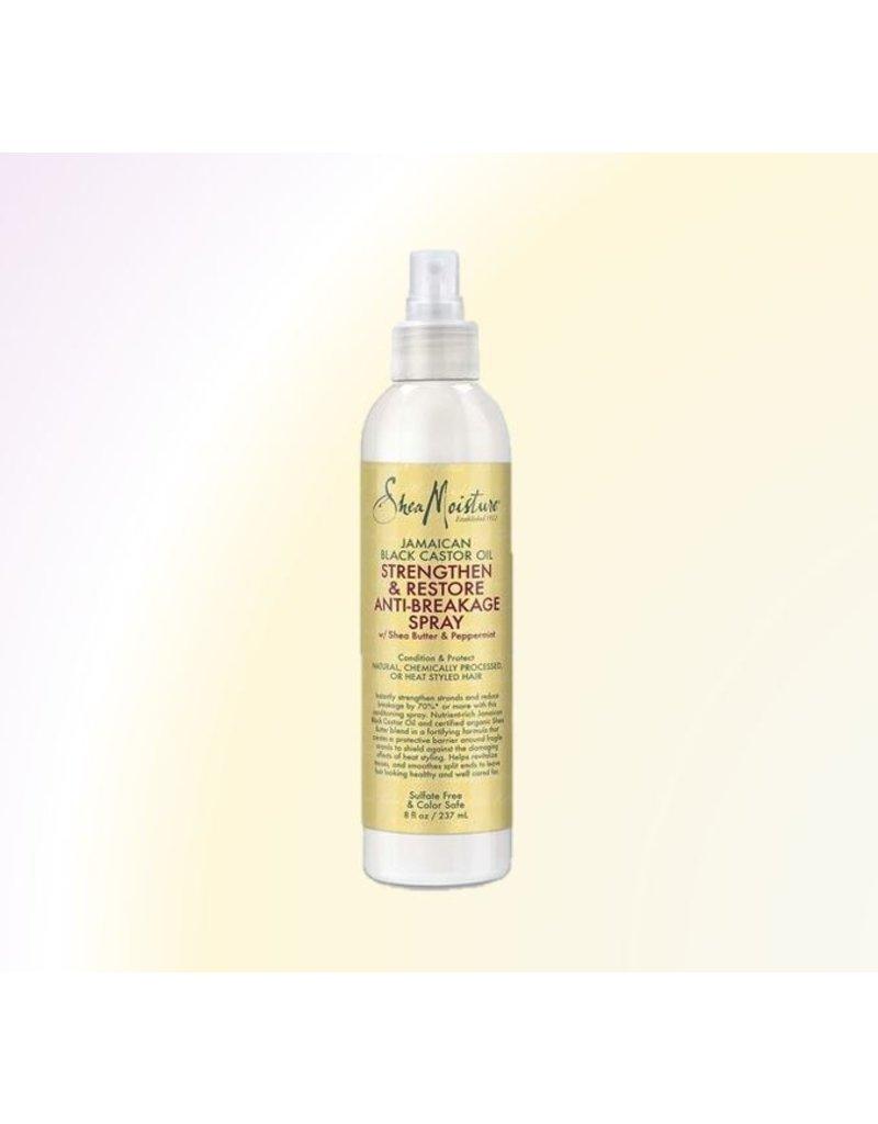 SHEA MOISTURE Jamaican Black Castor Oil Strengthen and Restore Anti Breakage Spray