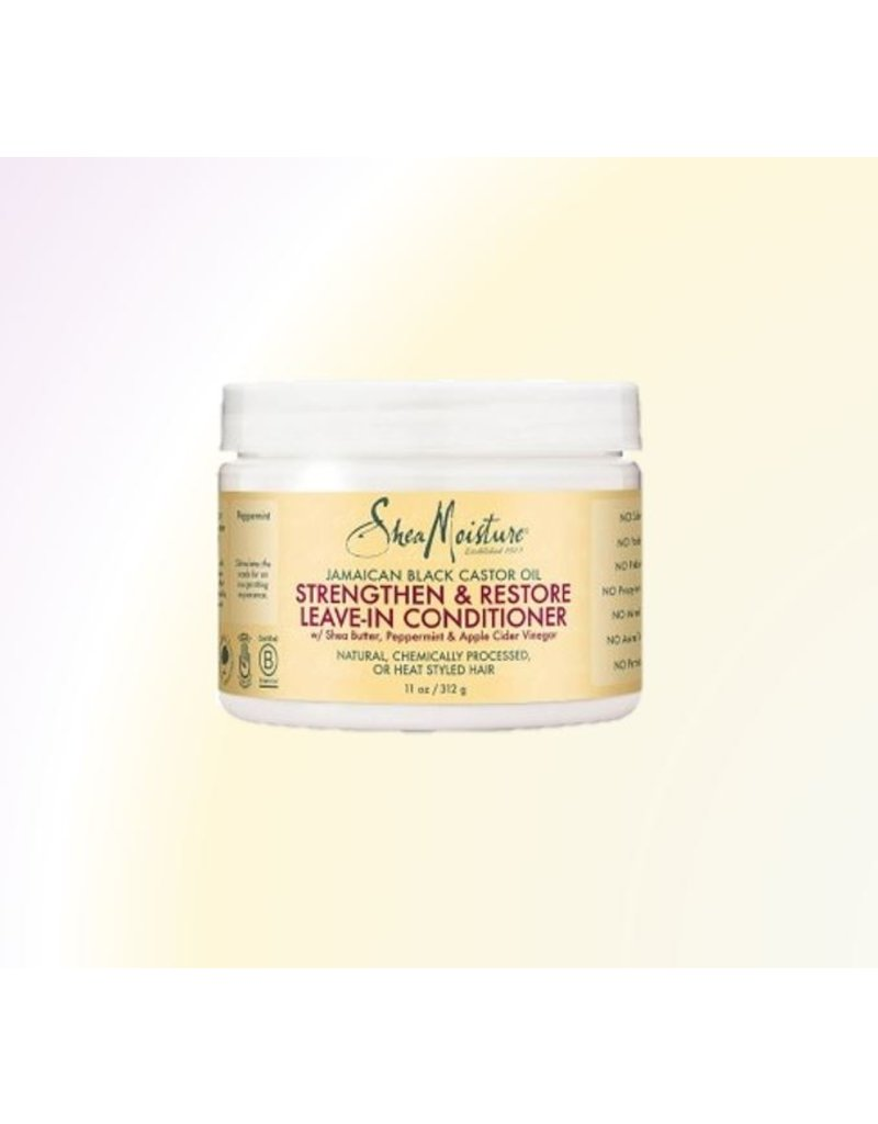 SHEA MOISTURE Jamaican Black Castor Oil Strengthen And Restore Leave In Conditioner (Bonus size)