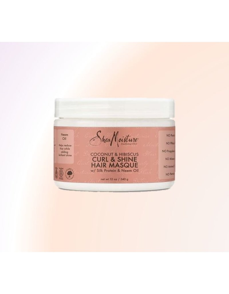 SHEA MOISTURE Coconut And Hibiscus Curl & Shine Hair Masque