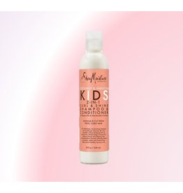 SHEA MOISTURE Coconut&Hibiscus Kids 2-in-1 Curl&Shine Shampoo&Conditioner