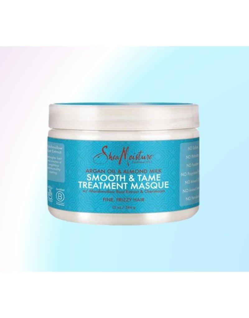 SHEA MOISTURE Argan Oil & Almond Milk Smooth & Tame Treatment Masque