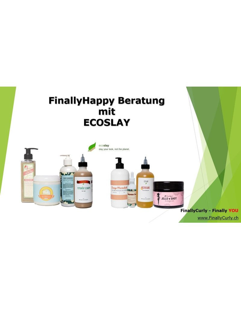 FINALLYCURLY FinallyHappy Beratung mit Ecoslay