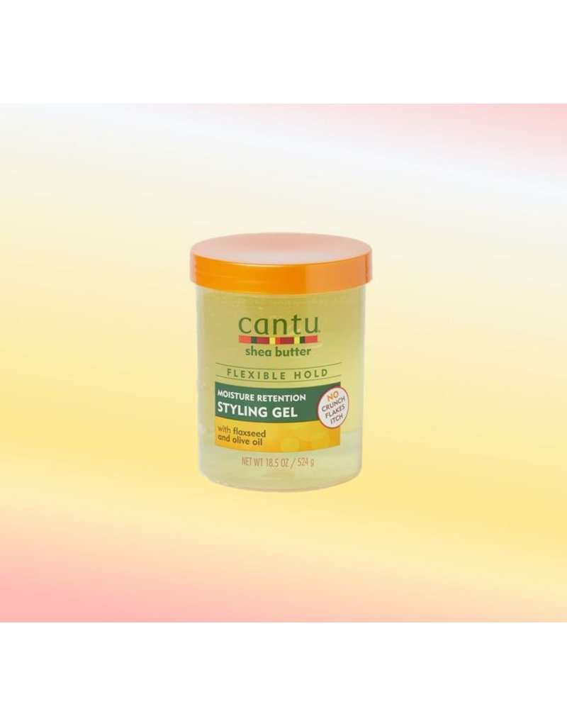 CANTU Moisture Retention Styling Gel Flaxseed & Olive Oil
