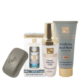 Acne Treatment Set - Dead Sea Products