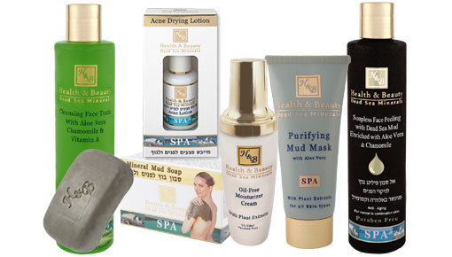 Which products can you use for the treatment of acne?