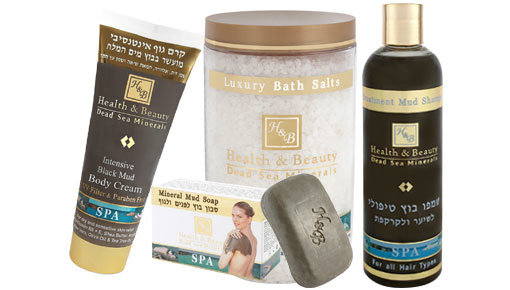 Treat eczema with H&B Dead Sea products