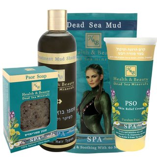 Psoriasis set with Dead Sea Mud and Mud Shampoo