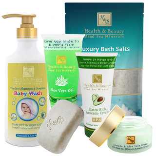 Eczema treatment set - babies & young children - face & body