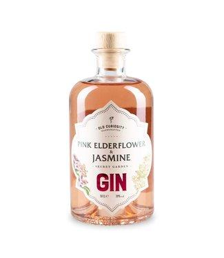 The secret Garden Pink Elderflower & Jasmine Gin