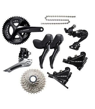 Shimano 105 R7020 Disc 11 speed groepset