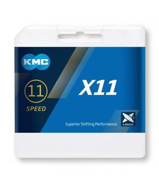 KMC KMC X11 Silver / Black Ketting 11 Speed