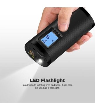 Makes Easy Draagbare USB Compressor - Elektrische Bandenpomp - Luchtcompressor - Fietspomp -