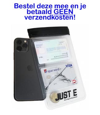 Just-E Just-E Smartphone Sport Hoesje | Spat Waterdicht Hoesje Telefoon | Wielrennen | Hardlopen