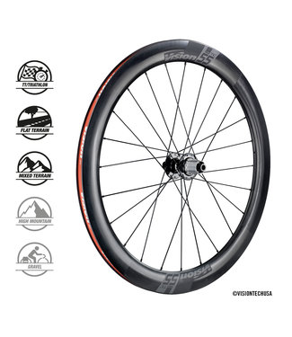 Vision Vision TC55 DB Clincher Tubeless Ready Wielset
