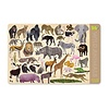Crocodile Creek Placemat 36 Wild Animals