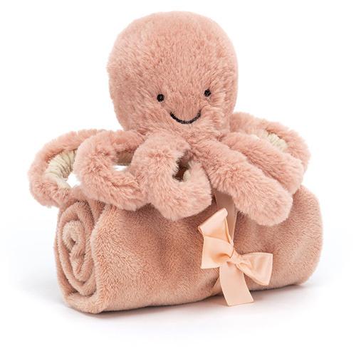 JellyCat Odell Octopus Knuffeldoekje