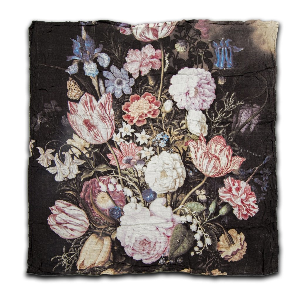 LouLou Lollipop Bamboo Swaddle Tuscan Flowers