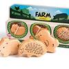 Campanilla Percussie Shaker Rammelaars - Farm (3-delig)