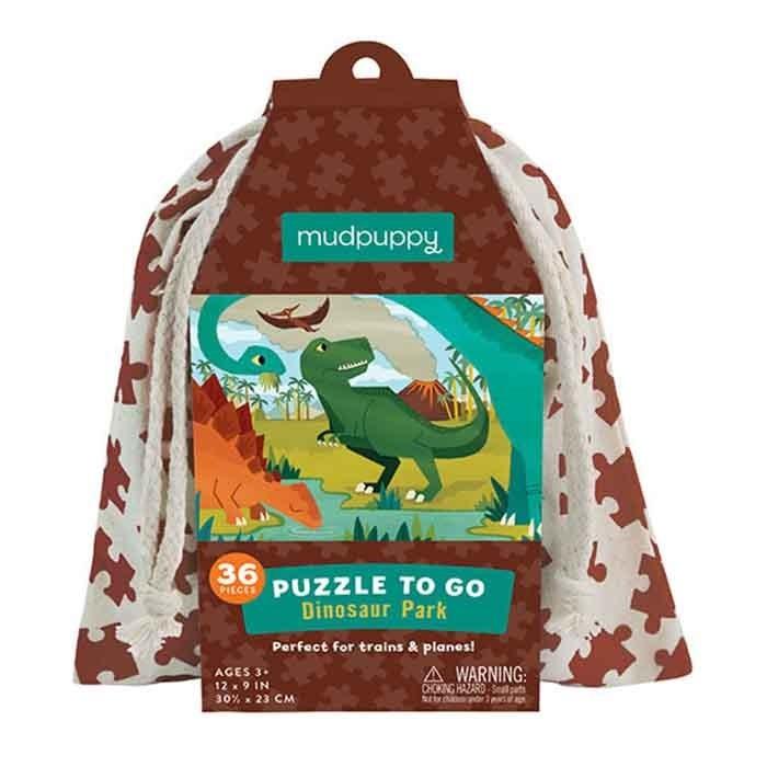 Mudpuppy Puzzel To Go - Dinosaur Friends (36-delig)