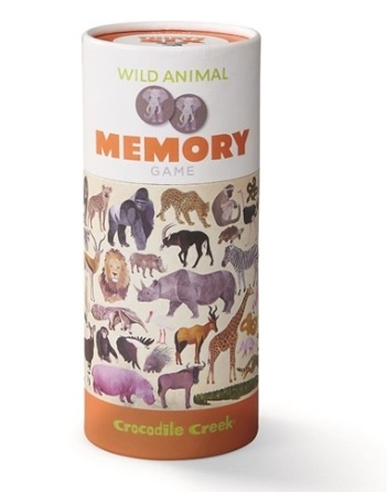 Crocodile Creek Memory 36 Animals - Wildlife